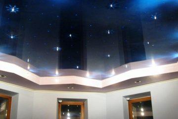 оптоволоконные нити дают мерцание звезд