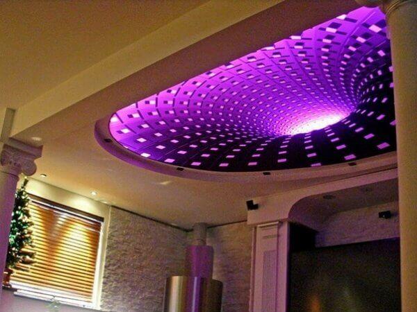 Натяжной потолок с фотопечатью 3D ART