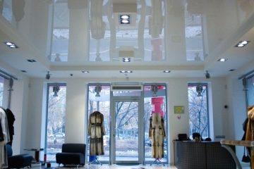 натяжной офис магазин галерея торговля фото