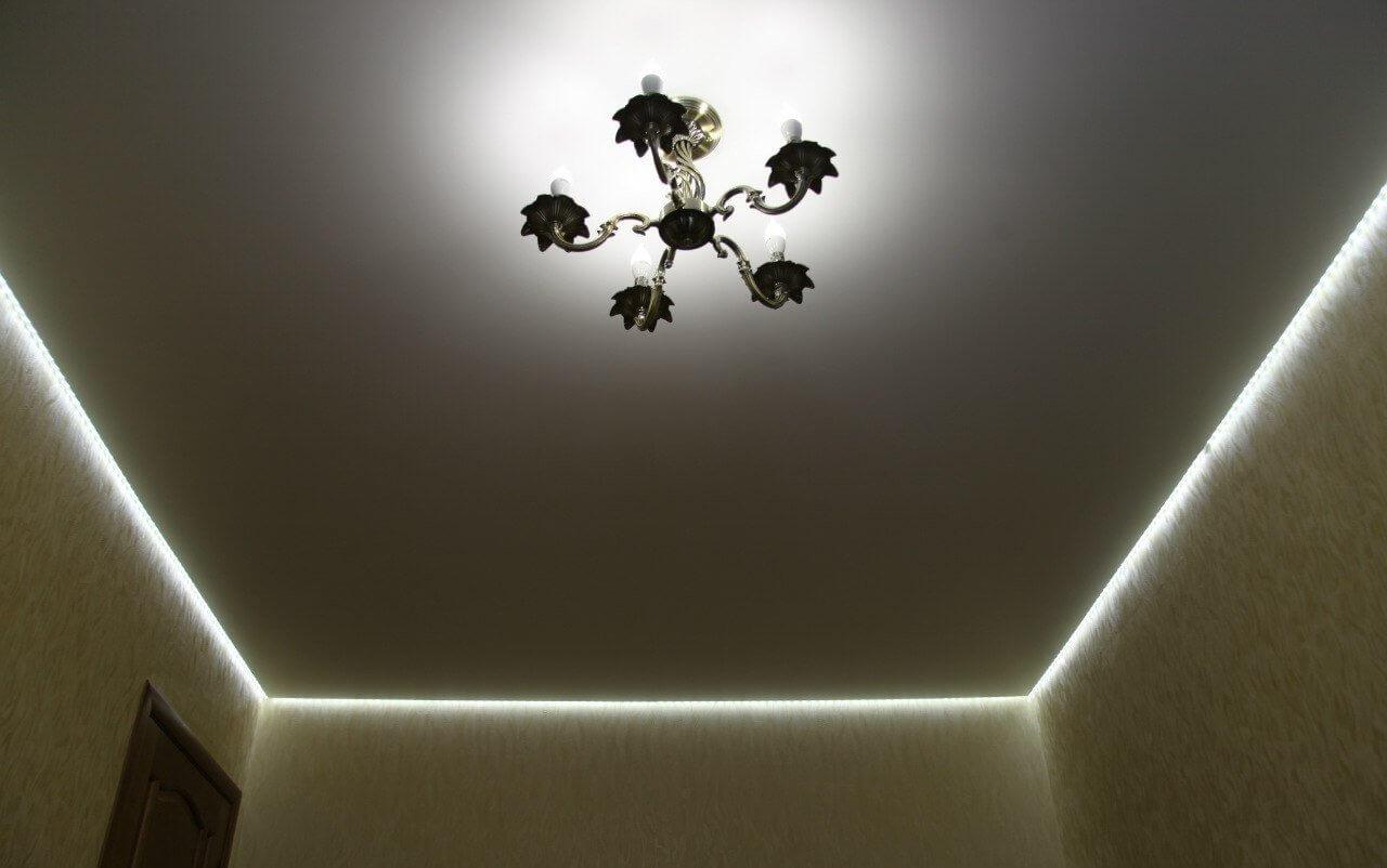 потолок натяжной парящий