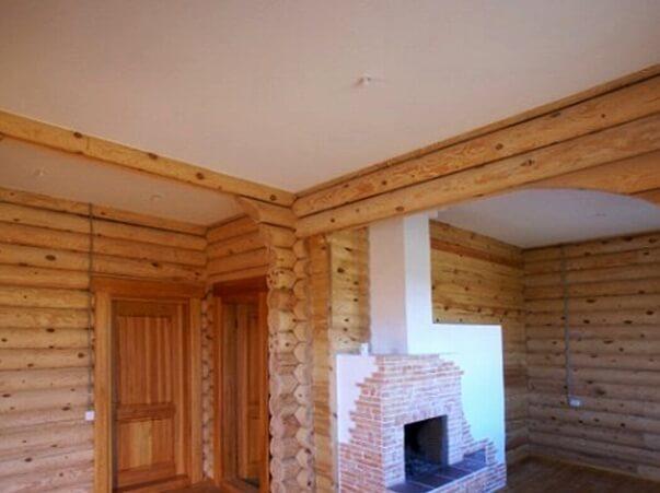 Натяжные потолки для загородного дома